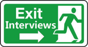 Ode to the Exit Interview: Early Warning System for Compliance
