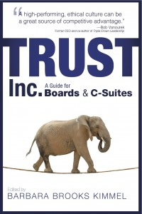 "Donna Boehme and Judi Nocito – Featured Experts in ""Trust, Inc. – A Guide for Boards and C-Suites"""
