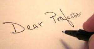 Dear Professor